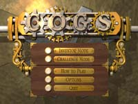 COGS main entry screen