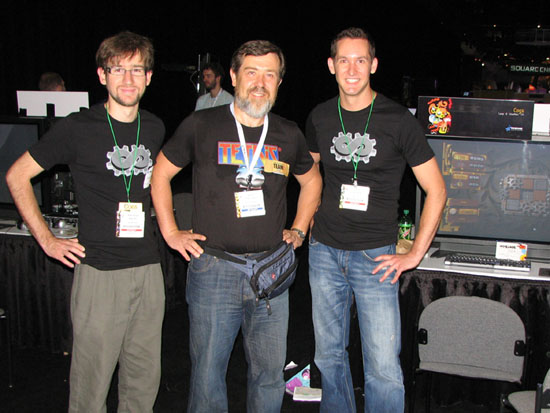 Alexey Pajitnov and Lazy 8
