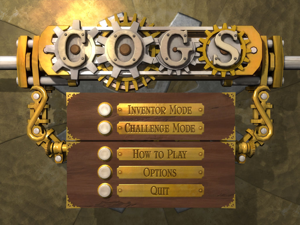 اللعبة Cogs الآن على الأندرويد النسخة 1